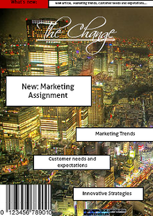 The Change ! Marketing and Strategy