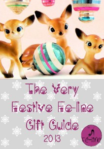 Very Festive Fe-line Gift Guide Christmas 2013