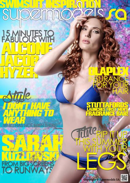 Supermodels SA September 2015, Issue 49