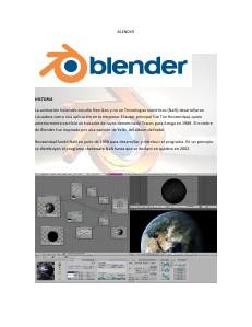 Blender: Un maravilloso Programa 12 2013