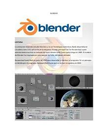 Blender: Un maravilloso Programa