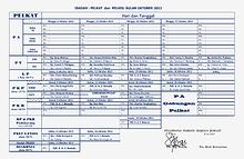 Jadwal Pelayanan GPIB Imanuel Cimahi