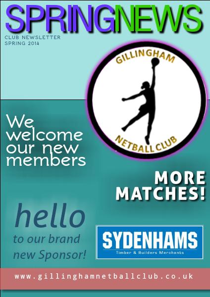 Gillingham Netball Club Spring 2014
