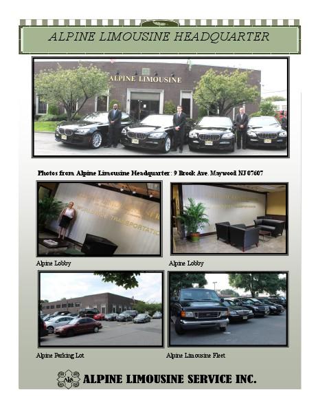 Alpine Limousine Service Headquarter Photos