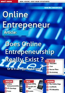 Online Entrepeneur - Edition #1