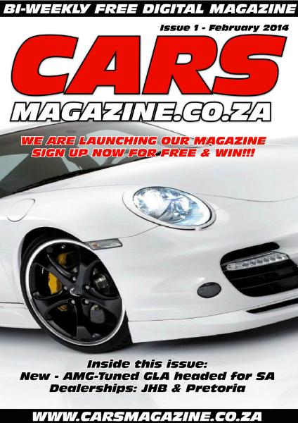 Cars Magazine Feb. 2014.