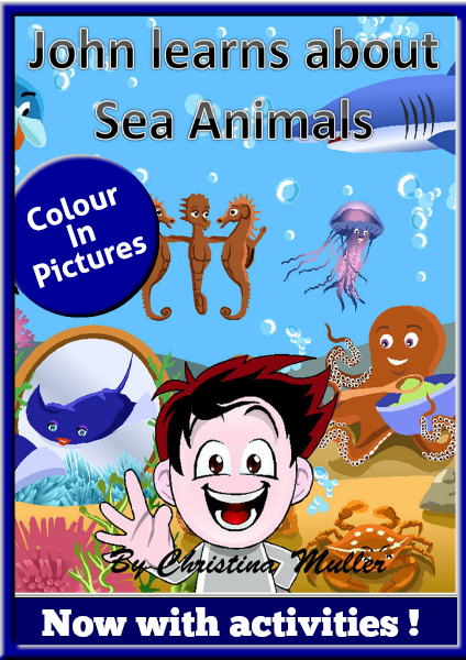 Aunt Christa's Children Stories John learns about Sea Animals