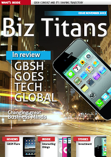 iConnect GBSH Consult Magazine