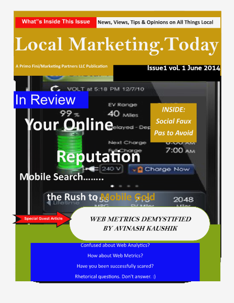 Local Marketing.Today     June 2014 Issue I vol.I June 2014 Issue I Vol.I