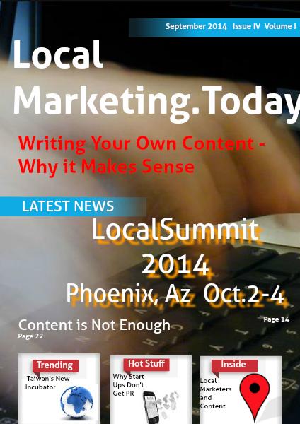 September 2014 Issue IV Volume I