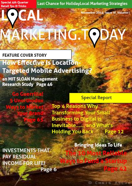 November 2014 Issue VI Volume I
