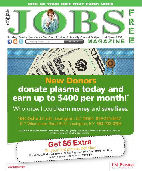 Jobs Magazine October 23 – 29, 2015