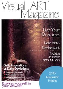 Visual ART Magazine November 2013