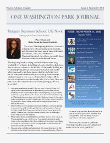 1 Washington Park Journal November Issue