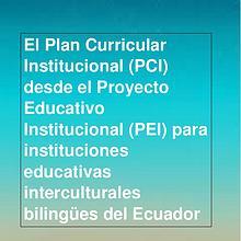 El PCI desde el PEI IB versión Preliminar