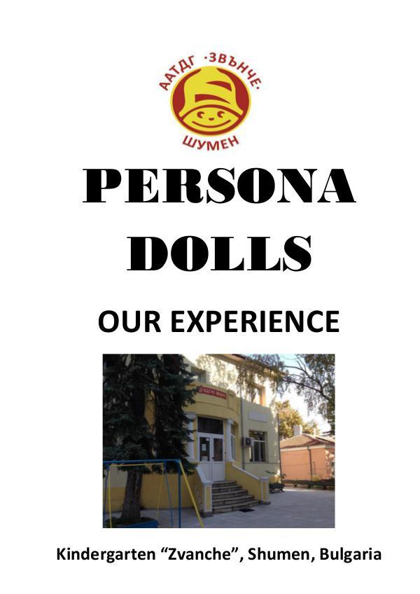 "Handbook ""Persona Dolls"" 2018"