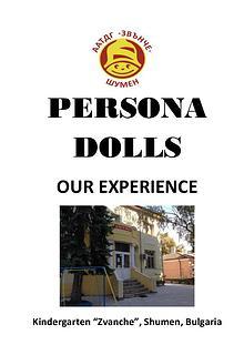 "Handbook ""Persona Dolls"""