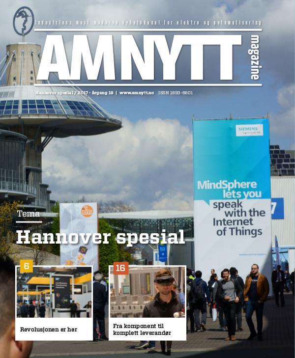AMNYTT Hannover spesial 2017