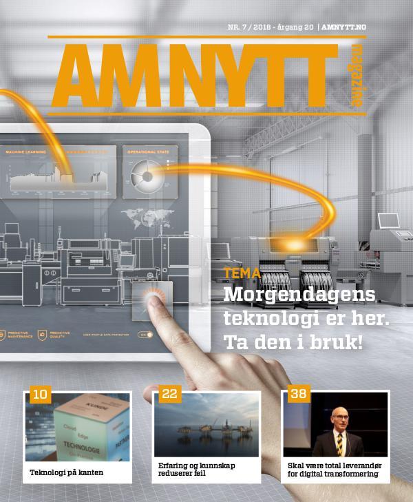 AMNYTT Nr. 7 2018