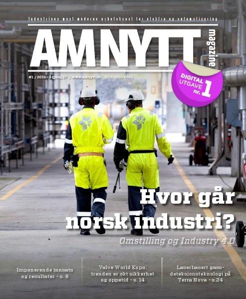 AMNYTT Nr. 1 – 2015