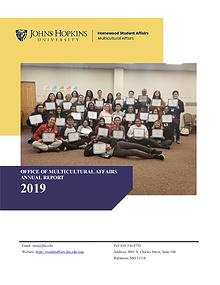 2018-2019 JHU OMA Annual Report