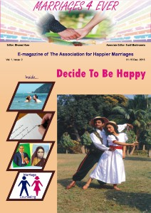 Marriages 4 ever Vol.1, Issue 2   December 2013