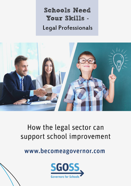 School Need Your Skills - Legal Sector Schools Need Your Skills - Legal Sector