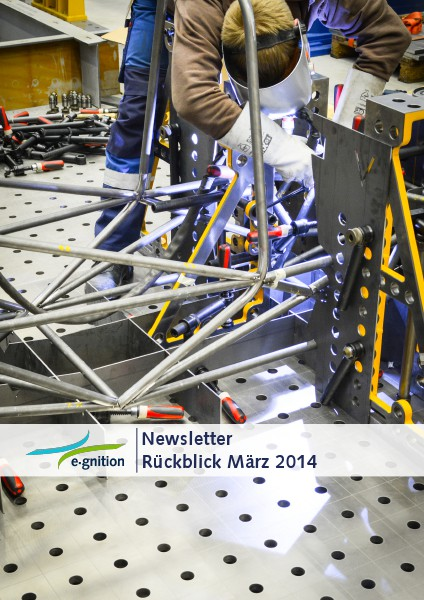 e-gnition Newsletter Saison 2014 März 2014
