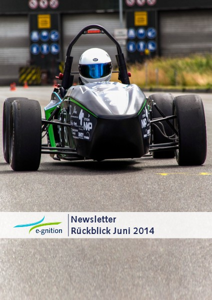 e-gnition Newsletter Saison 2014 Juni 2014