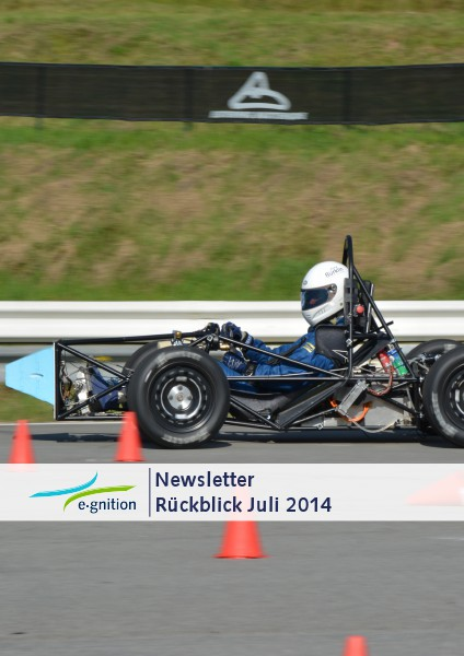 e-gnition Newsletter Saison 2014 Juli 2014