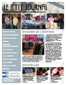 Le P'tit journal - Compagnons de Montréal