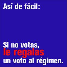 Si no votas nov 13