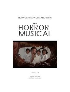 How Genres Work and Why The Horror Musical