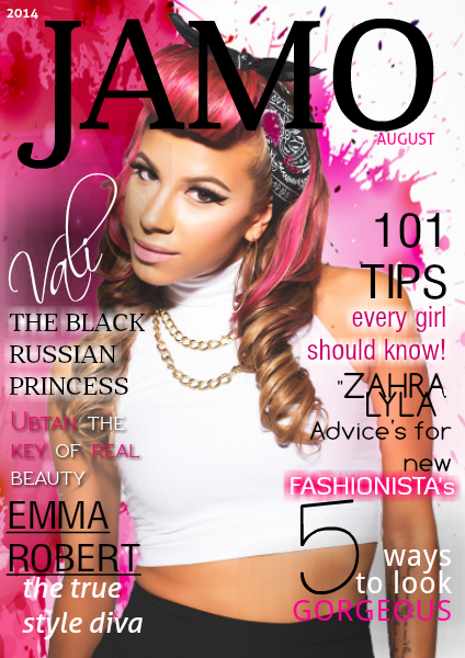 JAMO magazine August issue