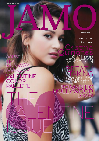 JAMO magazine February 2015/ 14th issue Valentine Special