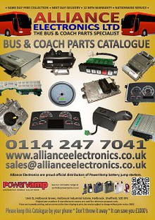 Bus and Coach Electronic & Electrical Parts Catalogue from Alliance Electronics