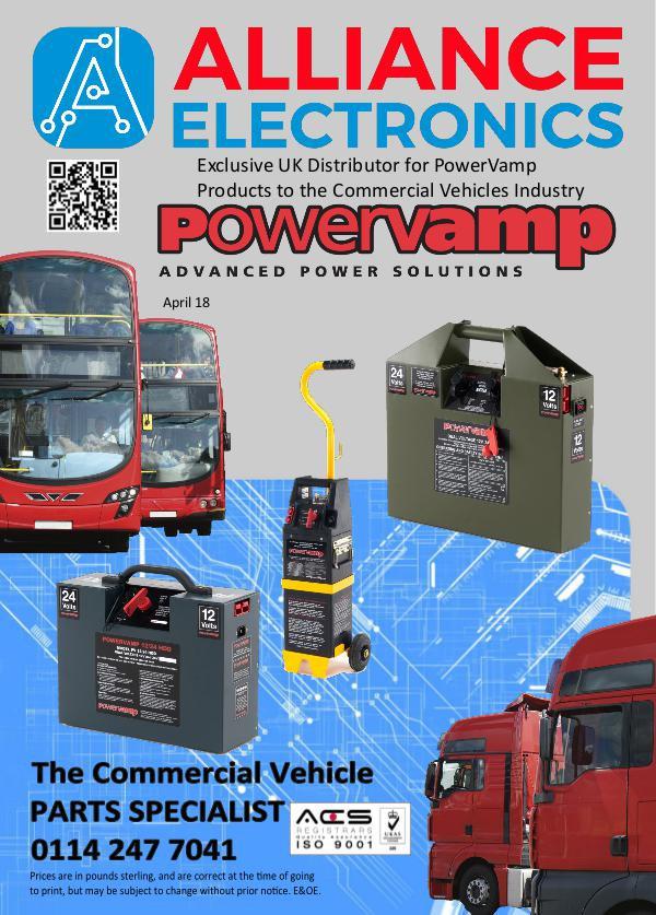 Powervamp Portable Power Packs from Alliance Electronics 2018 2018