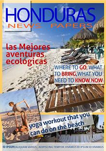 HONDURAS NEWS PAPER