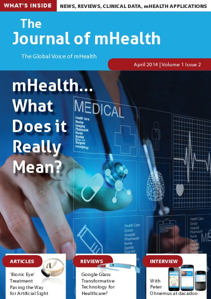 The Journal of mHealth Vol 1 Issue 2 (Apr 2014)