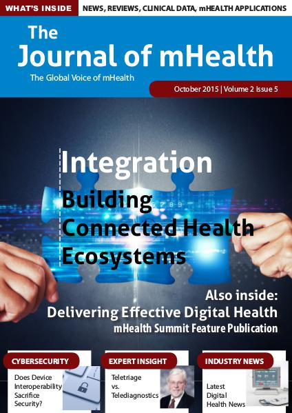 The Journal of mHealth Vol 2 issue 5 (Oct)