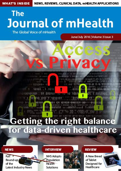 The Journal of mHealth Vol 3 Issue 3 (Jun/Jul 2016)