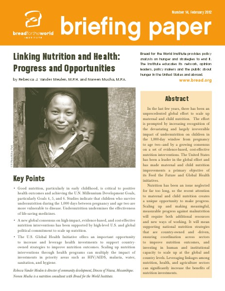 Briefing Papers Number 14, February 2012