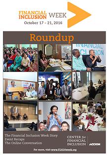 Financial Inclusion 2020: Essential Debates FI2020 Week Roundup