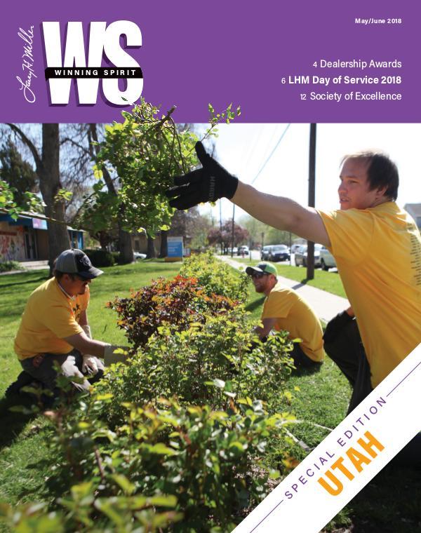 Winning Spirit Magazine May - June UTAH 2018