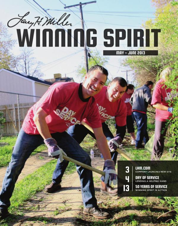 Winning Spirit Magazine May - June 2013 May - June 2013