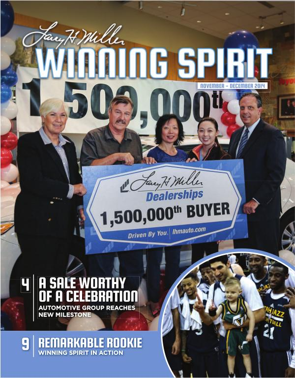 Wining Spirit Magazine November - December 2104 November - December 2104