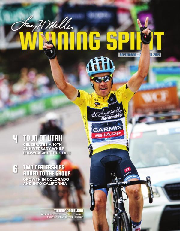 Winning Spirit Magazine September - October 2014 September - October 2014