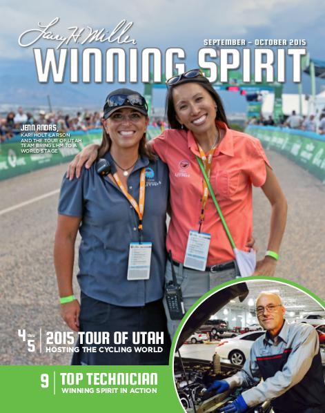 Winning Spirit Magazine September-October 2015
