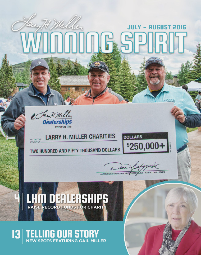 Winning Spirit Magazine July-August 2016