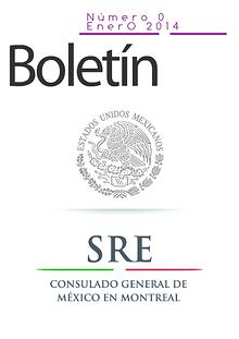 Boletin del Consulado General de Mexico en Montreal